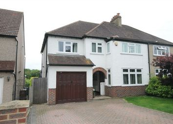 Thumbnail 4 bed semi-detached house for sale in Pine Ridge, Carshalton, Surrey