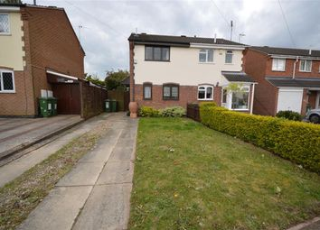 Thumbnail 2 bed semi-detached house for sale in Gilmorton Avenue, Leicester LE29Gz