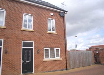 Thumbnail 3 bed semi-detached house to rent in Courtyard Close, Syston, Leicester, Leicestershire