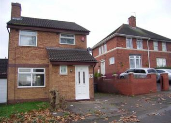 Thumbnail 3 bedroom detached house to rent in Glebe Farm Road, Birmingham