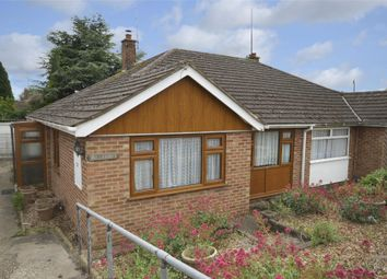 Thumbnail 2 bed semi-detached bungalow for sale in Twyford Avenue, Raunds, Northamptonshire