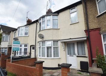 Thumbnail 2 bed terraced house for sale in Selbourne Road, Luton