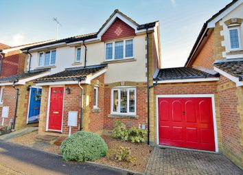 Thumbnail 3 bed semi-detached house for sale in Lorne Gardens, Knaphill, Woking
