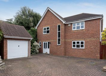 Thumbnail 4 bed detached house for sale in Cranmere Court, Strood, Rochester