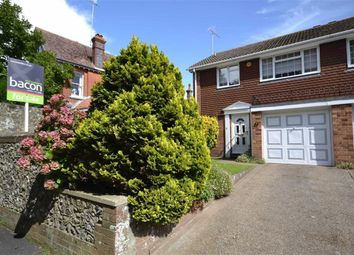 Thumbnail 3 bed semi-detached house for sale in Mill Road, Worthing, West Sussex