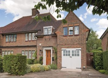Thumbnail 5 bed semi-detached house to rent in Litchfield Way, Hampstead Garden Suburb