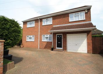 Thumbnail 4 bed detached house for sale in Hawthorne Avenue, West Cheshunt, Herts
