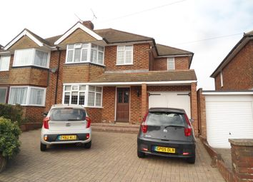 Thumbnail 4 bed semi-detached house to rent in Taverners Road, Rainham