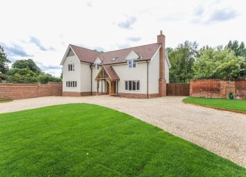 Thumbnail 4 bed detached house for sale in Thurlow Road, Great Bradley, Newmarket