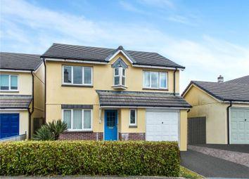 Thumbnail 4 bed detached house for sale in Robin Drive, Kensey Parc, Launceston