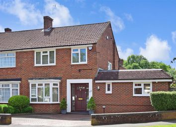 Thumbnail 4 bed semi-detached house for sale in Orpin Road, Merstham, Redhill, Surrey