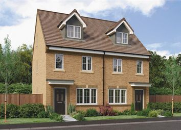 "Thumbnail 3 bed town house for sale in ""The Tolkien"" at Parkside, Hebburn"