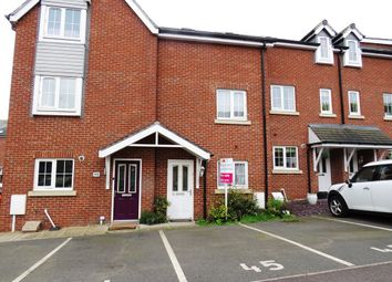 Thumbnail 4 bed town house for sale in Chamberlain Close, Uttoxeter