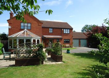 Thumbnail 4 bed detached house to rent in Manor Park, Hougham, Grantham, Lincs
