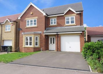 Thumbnail 4 bed detached house for sale in Devana Way, Great Glen, Leicester