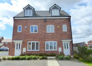 Thumbnail 3 bed semi-detached house to rent in Goodwill Road, Ollerton, Newark