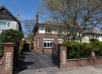 Thumbnail 4 bedroom detached house for sale in North Park Drive, Blackpool