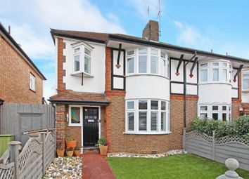 Cleveland Avenue, Hampton TW12. 3 bed semi-detached house for sale