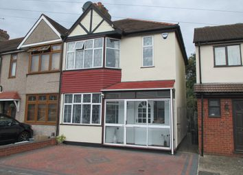 Thumbnail 3 bed end terrace house for sale in Trelawney Road, Hainault