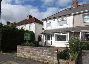 Thumbnail 3 bed semi-detached house for sale in Llanbedr Road, Fairwater, Cardiff