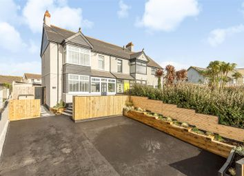Thumbnail 5 bedroom semi-detached house for sale in Quintrell Road, Newquay