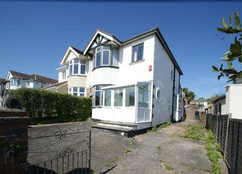 Thumbnail 3 bed semi-detached house for sale in Hilton Drive, Preston, Paignton