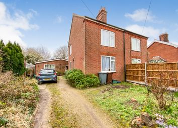 Thumbnail 3 bed semi-detached house for sale in Taylors Lane, Old Catton, Norwich