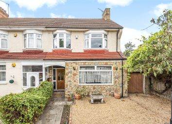Thumbnail 4 bedroom end terrace house for sale in Chimes Avenue, Palmers Green, London