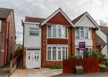 Thumbnail 3 bed semi-detached house to rent in Glebe Road, Hinckley