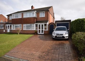 Thumbnail 3 bed semi-detached house for sale in Prescott Avenue, Petts Wood, Orpington