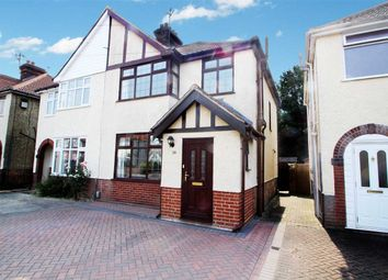 Thumbnail 3 bedroom semi-detached house for sale in Eustace Road, Ipswich