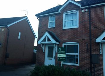Thumbnail 2 bedroom town house to rent in Peckleton View, Desford