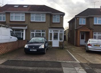 Thumbnail 3 bed semi-detached house for sale in Seaton Road, Hayes, Middlesex