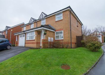 Thumbnail 3 bed semi-detached house for sale in Maes Yr Orchis, Morganstown, Radyr, Cardiff