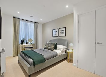 Thumbnail 3 bedroom flat for sale in Shackleton Way, Royal Albert Wharf, London