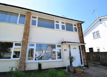 Thumbnail 3 bedroom semi-detached house for sale in Coombes Grove, Rochford, Essex