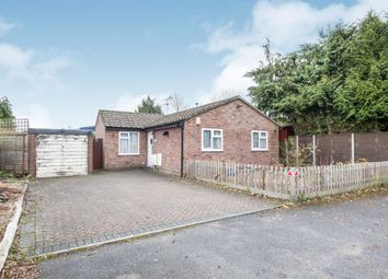 Thumbnail 2 bed detached bungalow for sale in Hardy Close, West Moors, Ferndown