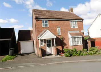 Thumbnail 3 bed detached house for sale in Trefoil Close, Leicester