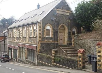 Thumbnail 1 bed flat for sale in Wesleyan Church, High Street, Llanhilleth.