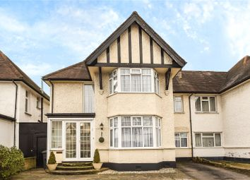 Thumbnail 4 bed semi-detached house for sale in Edgwarebury Lane, Edgware