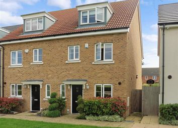 Thumbnail 4 bed semi-detached house for sale in Blenheim Square, Epping, Essex
