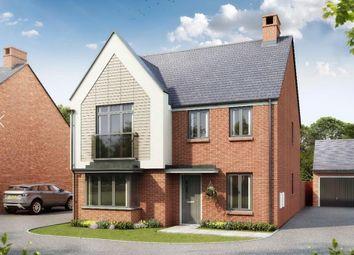 "Thumbnail 4 bedroom detached house for sale in ""Bellever"" at Gimson Crescent, Tadpole Garden Village, Swindon"