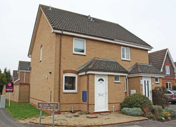 Thumbnail 2 bed semi-detached house for sale in Orwell Drive, Didcot