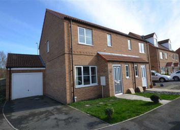 Thumbnail 3 bed semi-detached house for sale in Heather Drive, Sherburn In Elmet, Leeds