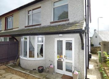 Thumbnail 3 bed semi-detached house for sale in Penrhos Road, Bangor, Gwynedd