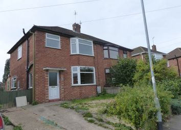Thumbnail 3 bed semi-detached house for sale in Clive Avenue, Lincoln