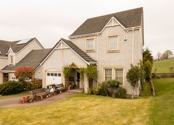 Thumbnail 4 bedroom detached house for sale in Brandywell Road, Abernethy, Perth