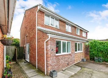 Thumbnail 3 bed semi-detached house for sale in The Pastures, Barry