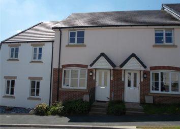Thumbnail 2 bed terraced house for sale in Oak Moor Drive, Launceston, Cornwall