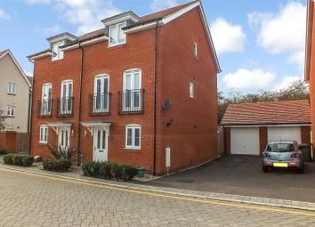 Thumbnail 3 bed semi-detached house for sale in Gorse Crescent, St. Neots